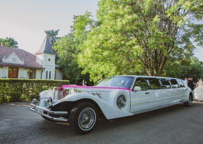 Esküvő limuzin