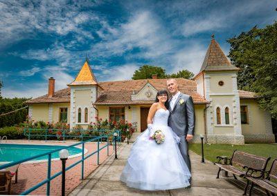 Babó Kastély esküvő - pár